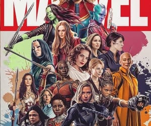 Marvel, women, and black widow image