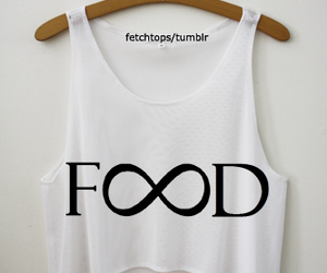 food, fashion, and shirt image