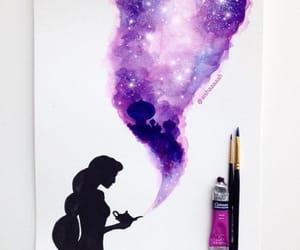 disney, art, and jasmine image