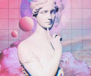 wallpaper, aesthetic, and vaporwave image