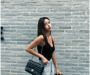 aesthetic, asian girl, and kfashion image