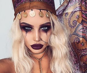 makeup, Halloween, and halloween makeup image