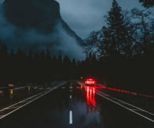 nature, night, and rain image