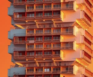 architecture, design, and orange image