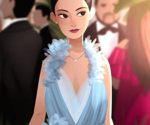 art and crazy rich asians image