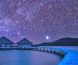 Cambodia, travel, and milkyway image