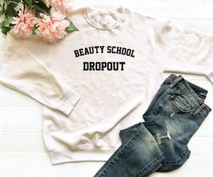 etsy, school, and sweater clothing image