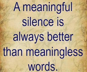 quotes, silence, and silence quotes image