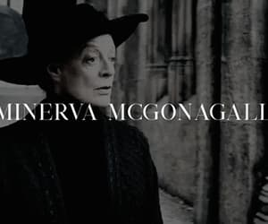 gif, minerva mcgonagall, and harry potter image