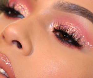 aesthetic, cosmetics, and eyes image