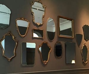 mansion, mirror, and vintage image
