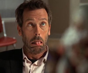 house, dr house, and funny image