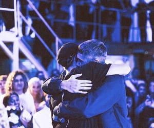 boys, hug, and eurovision image