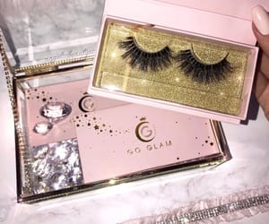 glam, luxury, and makeup image