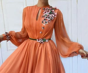 dress and orange image
