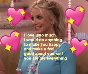 britney spears, meme, and wholesome image
