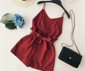 fashion, red, and hat image