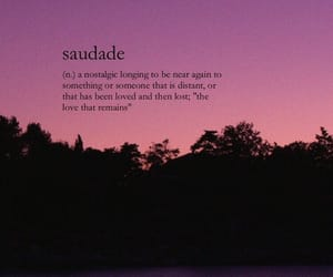 wallpaper, quotes, and saudade image
