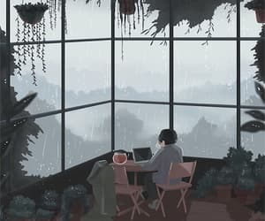 aesthetic, gif, and nature image