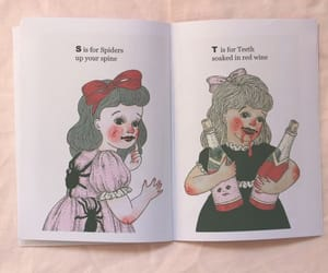 book, pastel, and cartoons image
