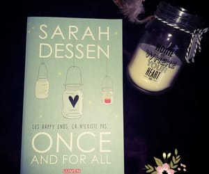 books, sarahdessen, and onceandforall image