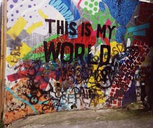 amazing, colorful, and graffiti image