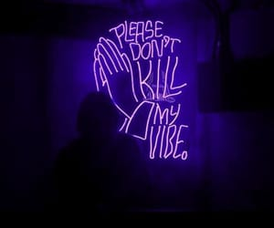 light, neon, and purple image