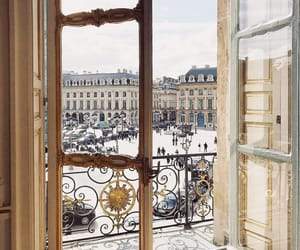 apartment, balcony, and france image