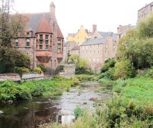 calm, castles, and scotland image