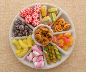 candy, miniature, and food image