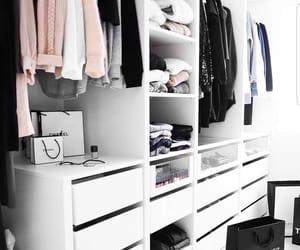 closet, fashion, and clothes image