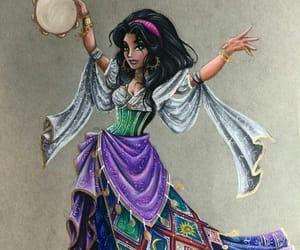 esmeralda, walt disney, and art image