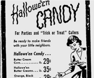 1950s, ad, and candy image