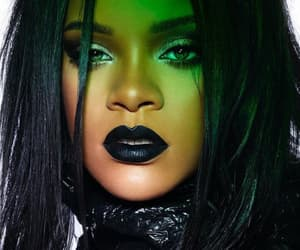 beautiful, black lips, and rihanna image