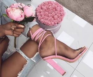 pink, fashion, and rose image
