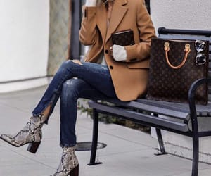 fashion, street style, and louis vuitton bag image