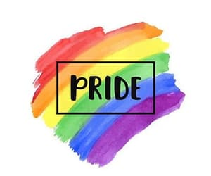 pride, lgbt, and rainbow image