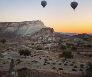 cappadocia, holiday, and mountains image