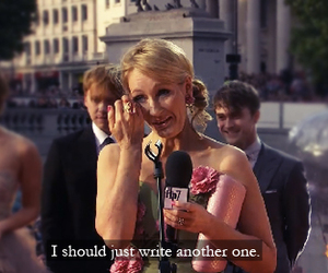 harry potter, j.k. rowling, and jk rowling image