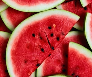 fruit, red, and sandia image
