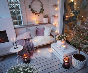 bedroom, disign, and garden image