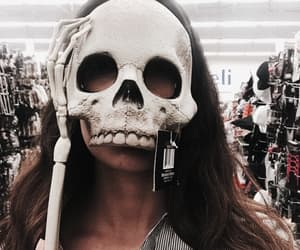 Halloween, skull, and fall image