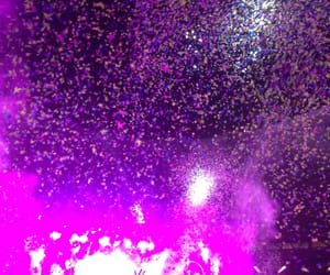 coldplay, confetti, and concert image