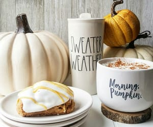 pumpkin, autumn, and coffee image