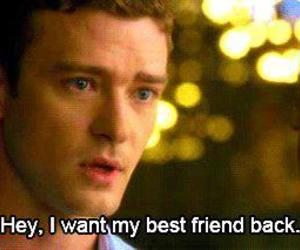 justin timberlake, friends with benefits, and friends image