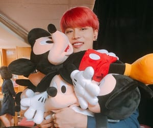kpop, mickey mouse, and taeil image