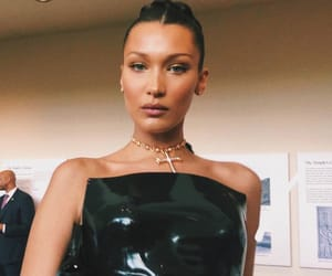 bella hadid and met gala image