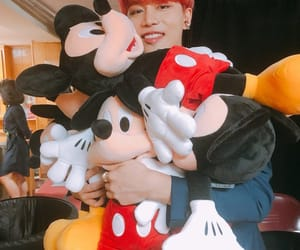 mickey, taeil, and mouse image