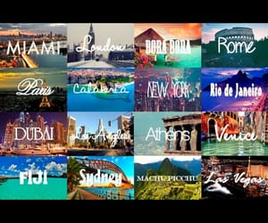 the world, life is short, and travel image