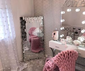 home, mirror, and decor image